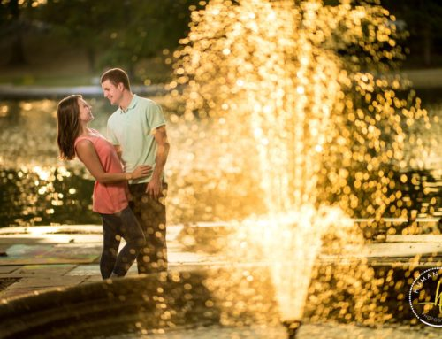 Alexis and Paul Engagement | Cleveland Cultural Gardens Engagement Session