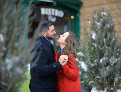 Winter Engagement Session in Cleveland | Vlad and Kimberly