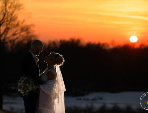 Mapleside Farms Winter Wedding with Shanna and Jeff
