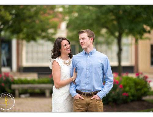 Chagrin Falls Engagement Session with Jen and Dan